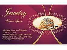 49 Format Business Card Template For Jewellery PSD File for Business Card Template For Jewellery