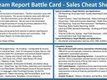 49 Free Battle Card Template Sales Layouts with Battle Card Template Sales
