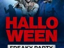 Halloween Flyer Templates Free Psd