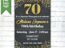 49 Free Printable 70Th Birthday Card Template Free for Ms Word for 70Th Birthday Card Template Free