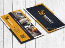 49 Free Printable Business Card Templates Construction Maker with Business Card Templates Construction