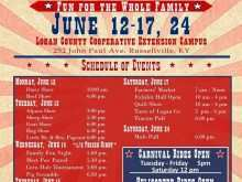 49 Free Printable County Fair Flyer Template For Free for County Fair Flyer Template