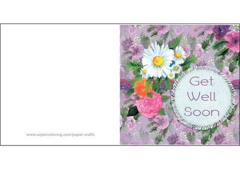 49 Get Well Soon Card Templates in Photoshop by Get Well Soon Card Templates