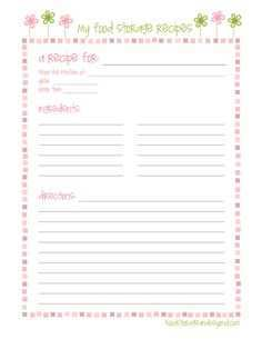 49 How To Create Blank Recipe Card Template For Word Download with Blank Recipe Card Template For Word