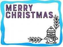 49 How To Create Christmas Card Template Esl Maker for Christmas Card Template Esl