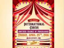 49 Printable Circus Flyer Template Free in Word with Circus Flyer Template Free