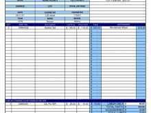 Vehicle Repair Invoice Template