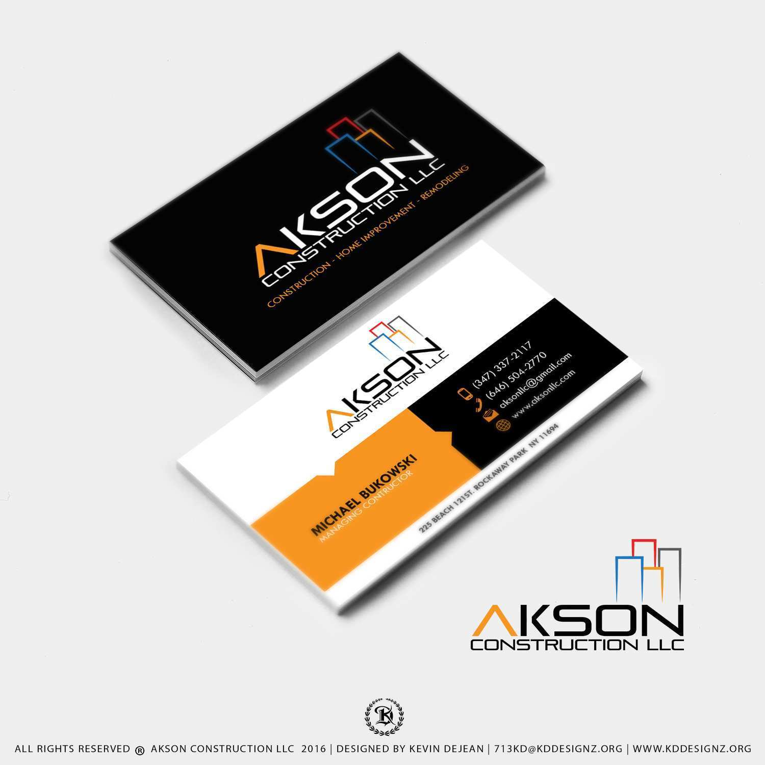 49 Report Construction Business Card Templates Download Free With Stunning Design with Construction Business Card Templates Download Free