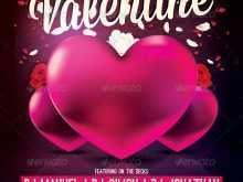 Valentine Flyer Template Free