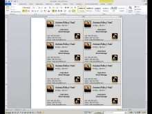 49 Standard Calling Card Template In Microsoft Word for Ms Word with Calling Card Template In Microsoft Word