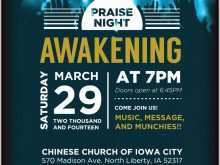 49 Standard Church Event Flyer Templates Formating for Church Event Flyer Templates
