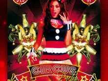 Circus Flyer Template Free
