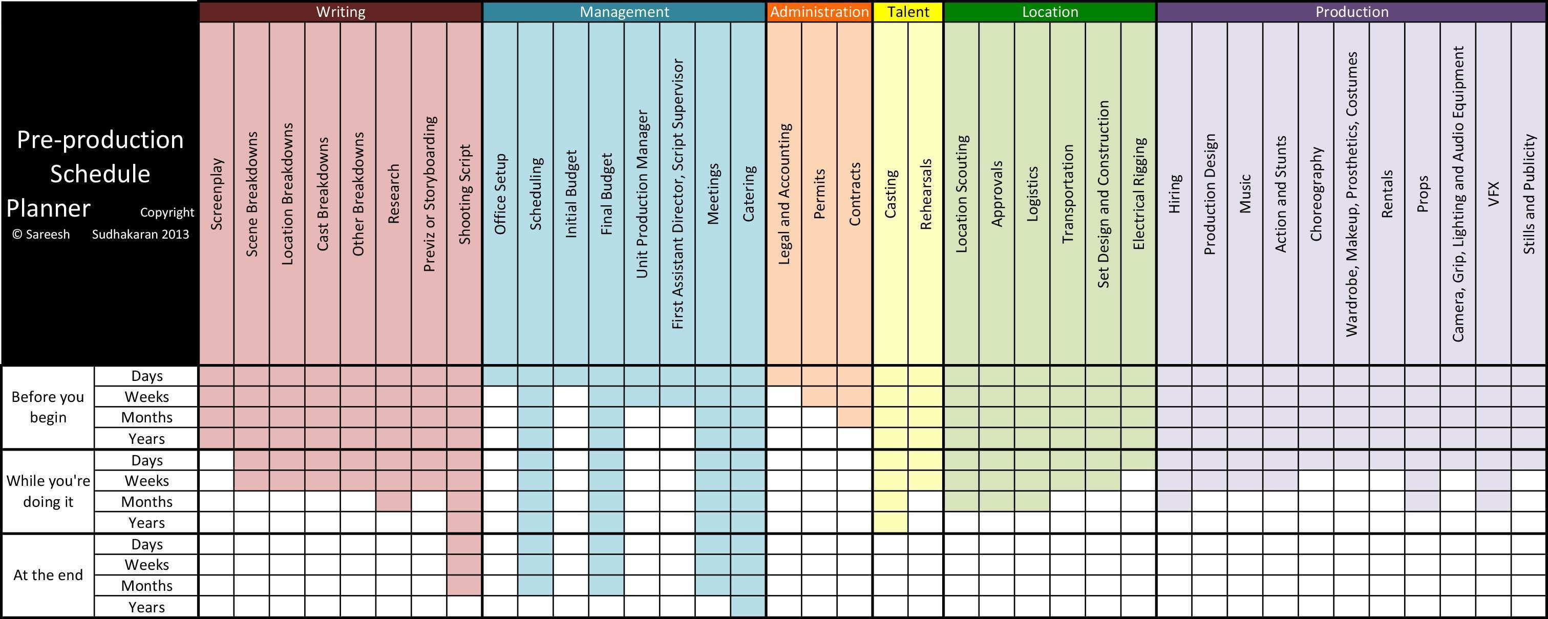 49 Standard Simple Production Schedule Template for Ms Word by Simple Production Schedule Template