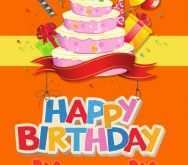 49 The Best Happy B Day Card Templates English Maker for Happy B Day Card Templates English