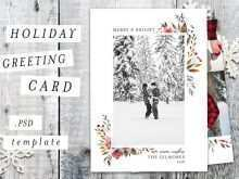 49 Visiting Christmas Card Template 2 Photos in Photoshop by Christmas Card Template 2 Photos