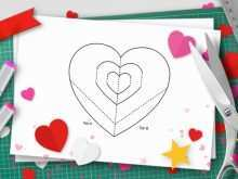 49 Visiting Pop Up Card Templates Valentine in Word for Pop Up Card Templates Valentine