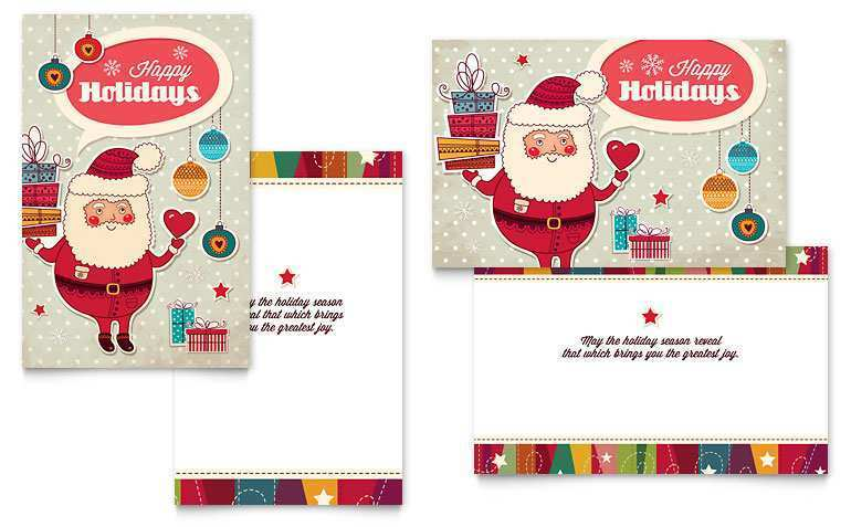50 Best Christmas Card Template Publisher For Free for Christmas Card Template Publisher