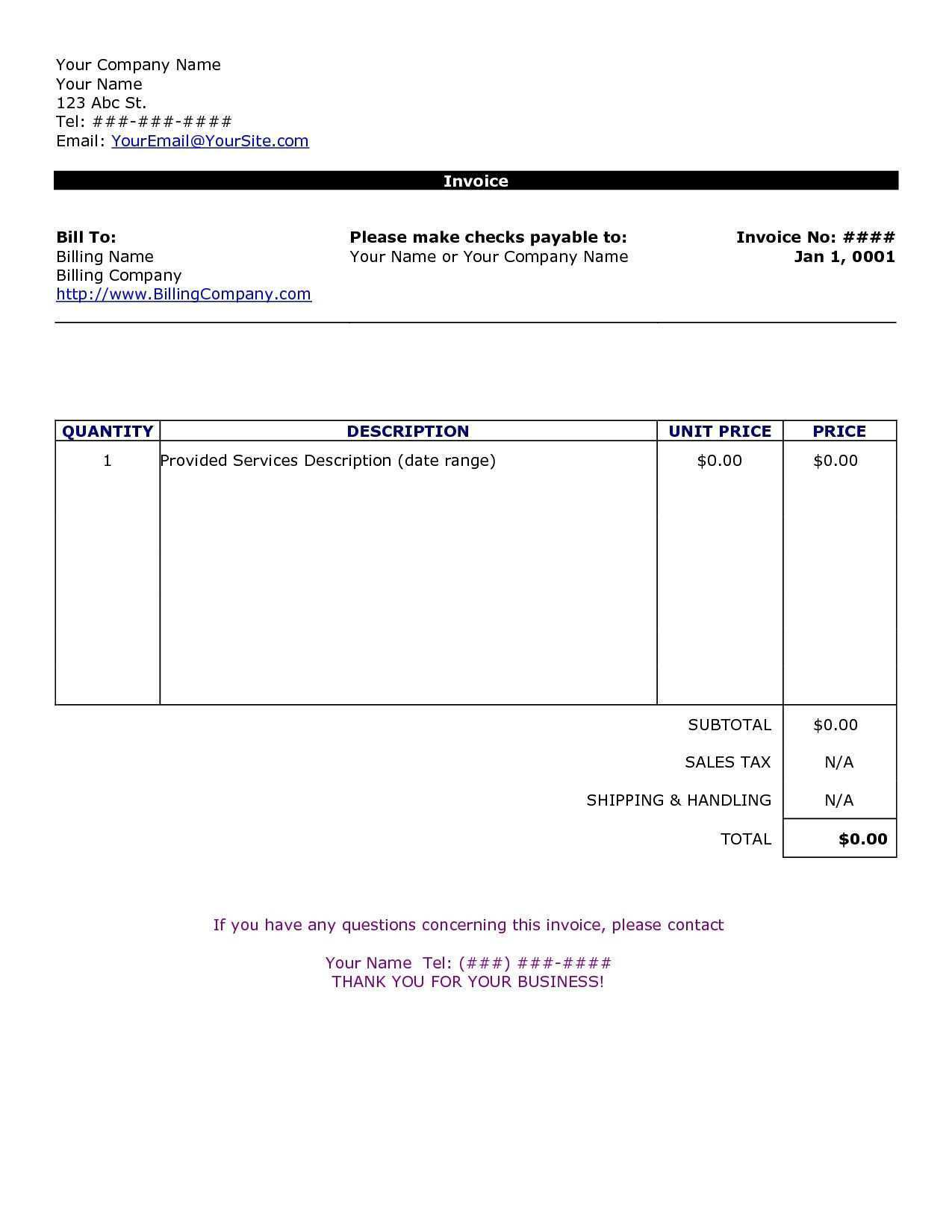 50 Best Tax Invoice Template For Mac Psd File With Tax Invoice Template For Mac Cards Design Templates