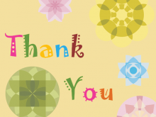 Thank You Card Templates In Word