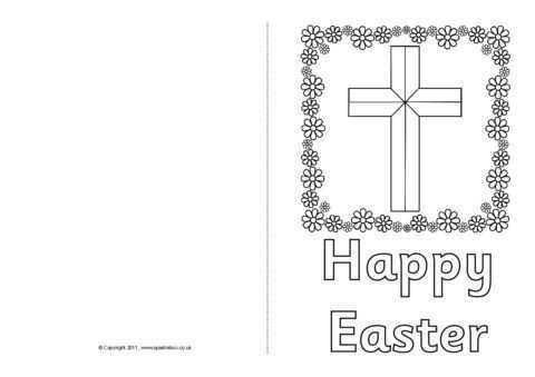 50 Blank Easter Card Templates Now with Easter Card Templates