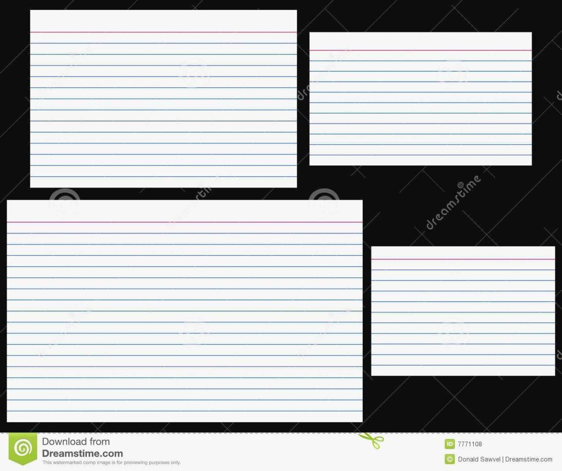 50 Creating Blank Note Card Template For Word Download by Blank Note Card Template For Word