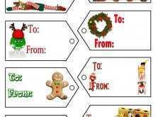 50 Creative Christmas Card Tags Template Templates with Christmas Card Tags Template