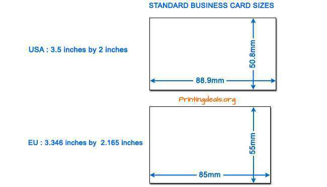 50 Customize Business Card Template Size Mm in Word with Business Card Template Size Mm