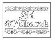 50 Customize Eid Card Templates To Colour Photo by Eid Card Templates To Colour