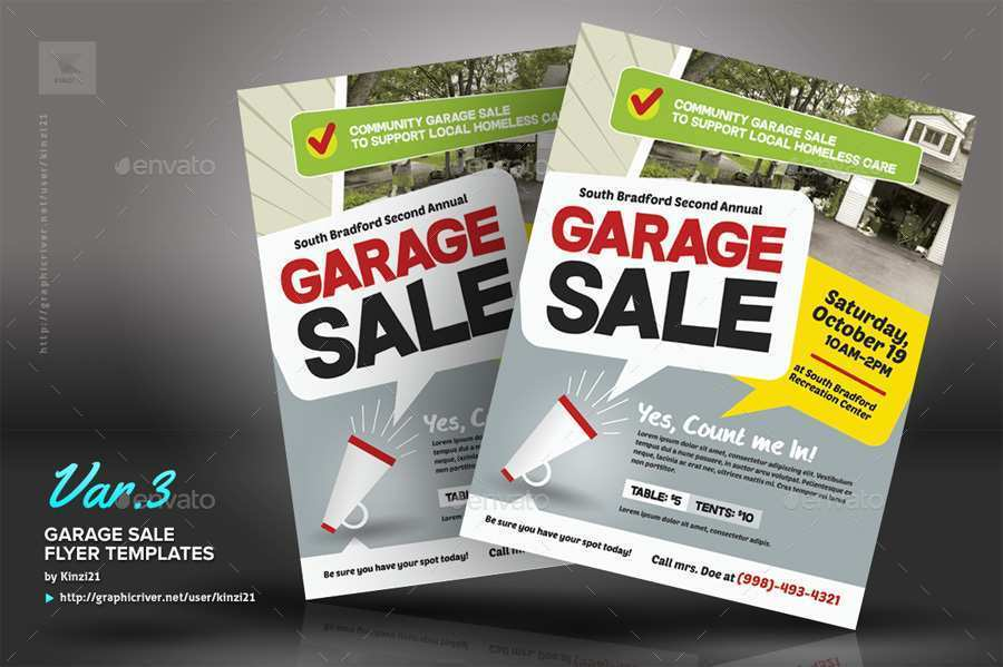 50 Customize Our Free Community Garage Sale Flyer Template for Ms Word with Community Garage Sale Flyer Template