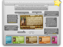 Id Card Template Deviantart