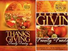 Thanksgiving Flyer Template Free Download