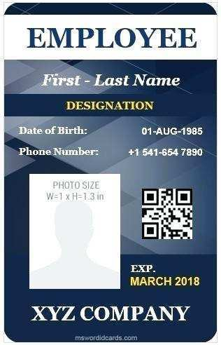 50 Customize Our Free University Id Card Template in Photoshop by University Id Card Template