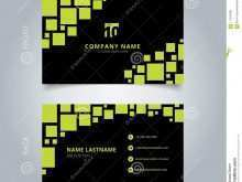 50 Format Square Name Card Template by Square Name Card Template