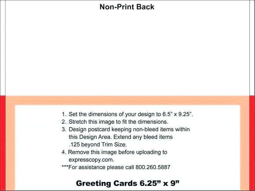 50 Free 5 X 7 Postcard Template Illustrator for Ms Word for 5 X 7 Postcard Template Illustrator