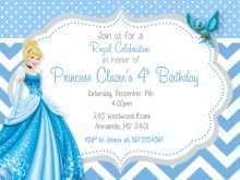 50 Free Cinderella Birthday Card Template Templates by Cinderella Birthday Card Template