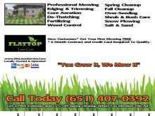 50 Free Mowing Flyer Template in Word by Mowing Flyer Template