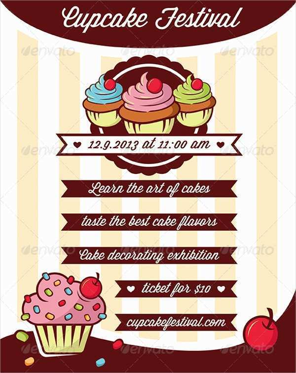 50 Online Bakery Flyer Templates Free With Stunning Design for Bakery Flyer Templates Free