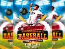 50 Printable Baseball Flyer Template Free Formating by Baseball Flyer Template Free