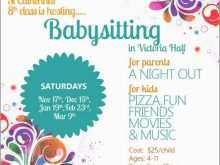 50 The Best Babysitting Flyer Templates for Ms Word with Babysitting Flyer Templates
