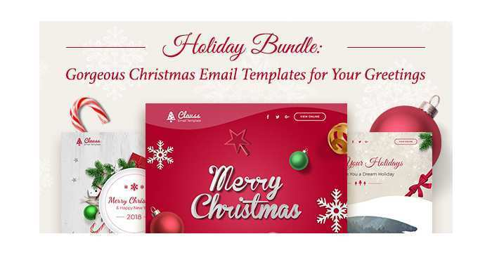 50 The Best Christmas Card Template Html in Photoshop by Christmas Card Template Html