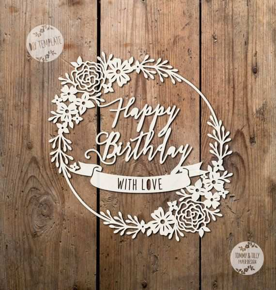 50 The Best Happy Birthday Card Template Pdf Download with Happy Birthday Card Template Pdf