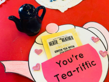 Teapot Mother'S Day Card Printable Template