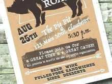 51 Adding Pig Roast Flyer Template Free Formating with Pig Roast Flyer Template Free
