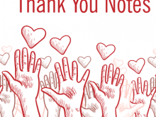 51 Adding Volunteer Thank You Card Template in Word with Volunteer Thank You Card Template