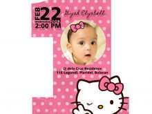 51 Best Birthday Invitation Card Template Hello Kitty Formating for Birthday Invitation Card Template Hello Kitty