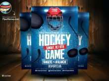 51 Create Free Hockey Flyer Template Formating with Free Hockey Flyer Template
