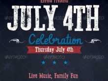 51 Creating 4Th Of July Party Flyer Templates Maker by 4Th Of July Party Flyer Templates