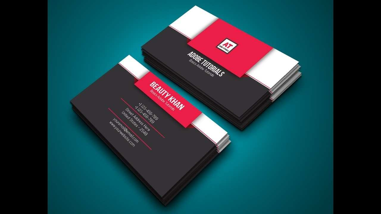 51 Creating Adobe Illustrator Business Card Template Tutorial in Photoshop by Adobe Illustrator Business Card Template Tutorial