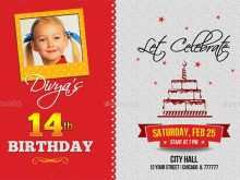Birthday Invitation Card Format In Word