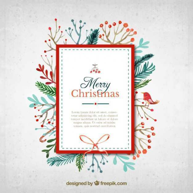 51 Customize Christmas Card Photo Template Vector Download for Christmas Card Photo Template Vector